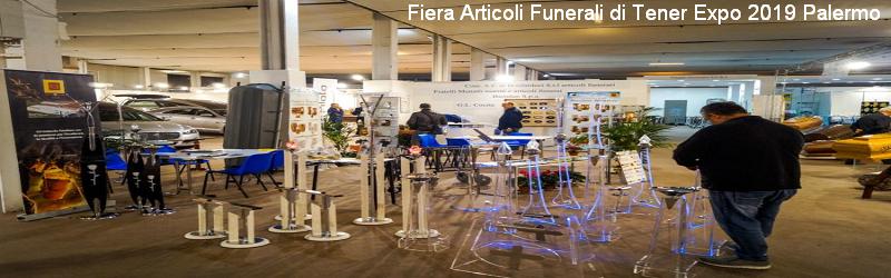 Fiera degli Articoli Funerali di Tener Expo 2019 Palermo