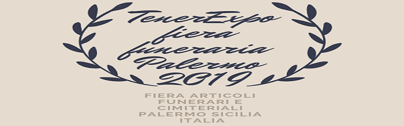 Fiera del funerale Palermo 2019 Fiera del Mediterraneo